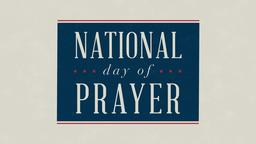 National Day of Prayer 16x9 PowerPoint Photoshop image