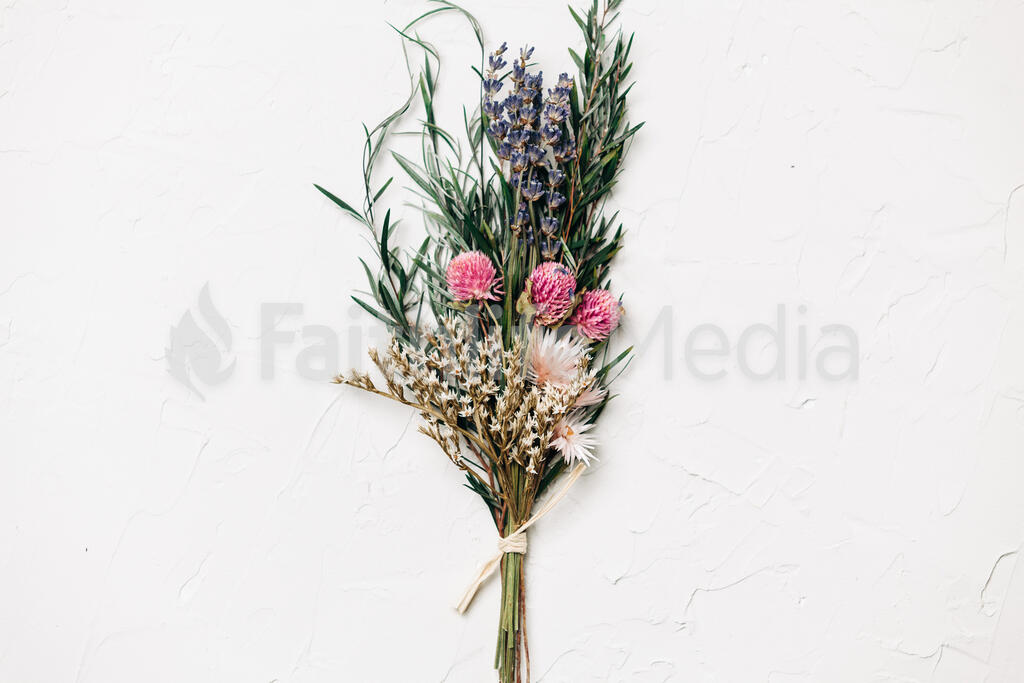 Dried Bridal Bouquet large preview