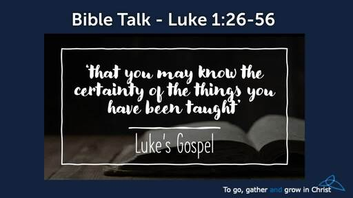 HTD - 2020-12-06 - Luke 1:26-56 - Responding rightly to God's IMPOSSIBLE plans
