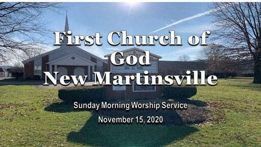 Sunday Morning Worship - 11-15-20