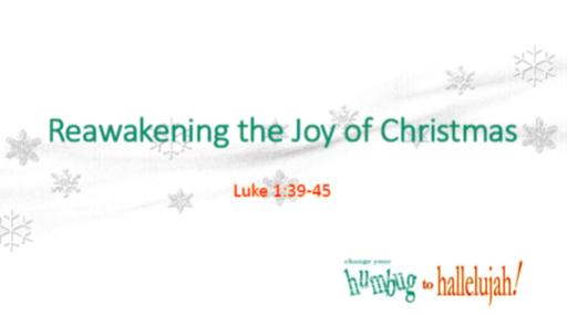 Reawakening the Joy of Christmas