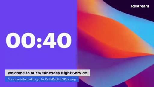 December 9, 2020 Wednesday Service