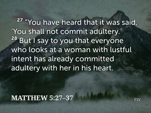 Promises - Matthew 5:27-37 - April 2, 2017
