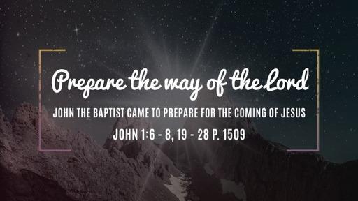 John 1:6-8,19-28