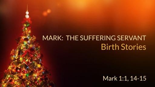 Mark: The Sufferering Servant