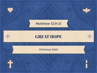 Christmas 2020 - Great Hope