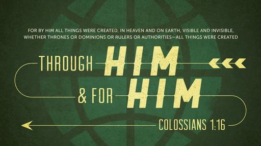 Sunday Sermon Colossians 1:19-23