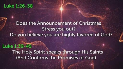 Luke 1:26-45 2020