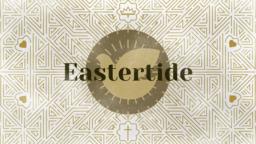 Liturgical Season Eastertide  PowerPoint image 1