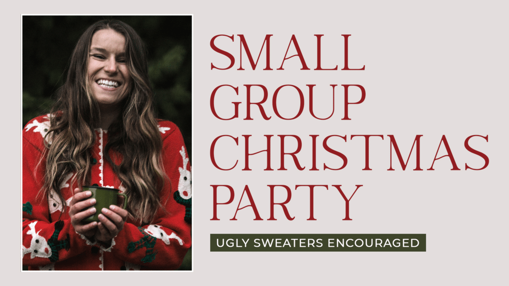 Small Group Christmas Party large preview