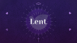 Liturgical Season Lent  PowerPoint image 1