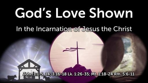 God's Love Shown