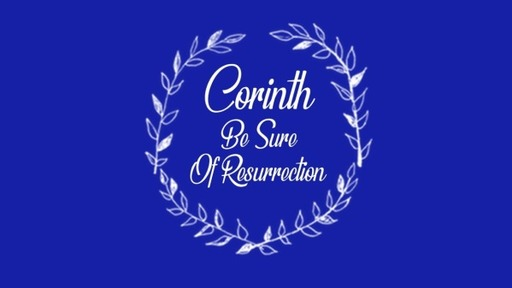 Corinth: Be Generous
