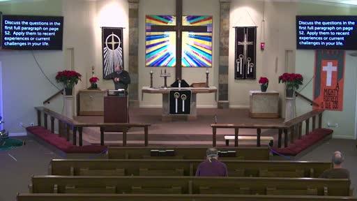 Revelation 3 (end) and 4 (beginning) Dec. 20, '20