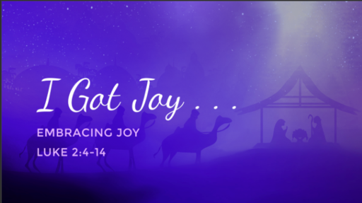 Sermon: Embracing Joy
