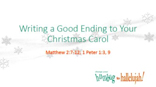 Writing a Good Ending to Your Christmas Carol
