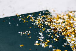2021 Notebook with Confetti  image 8