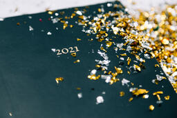2021 Notebook with Confetti  image 5