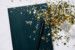 2021 Notebook with Confetti  image 4
