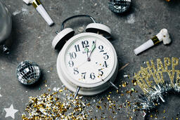 Clock Striking Midnight on New Year's  image 5