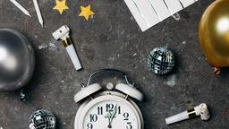 Clock Striking Midnight on New Year's  image 3