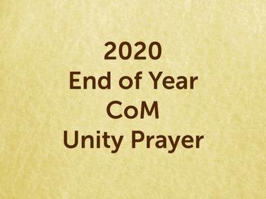 201226  - End of Year Prayer