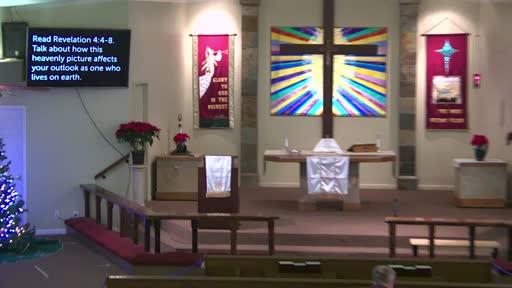 Revelation 4 Bible study Dec. 27, '20