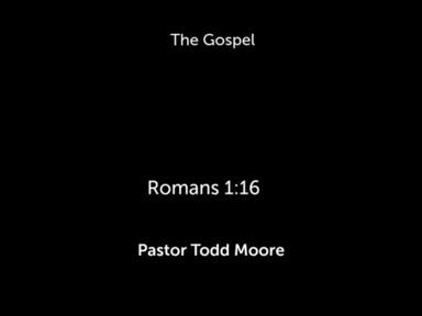 """Sunday 1st Service """"The Gospel """""""