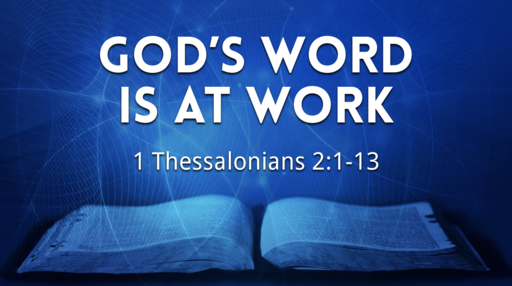 God's Word is at Work