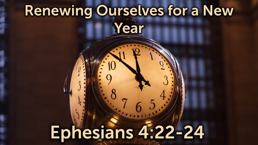 Renewing Ourselves for a New Year
