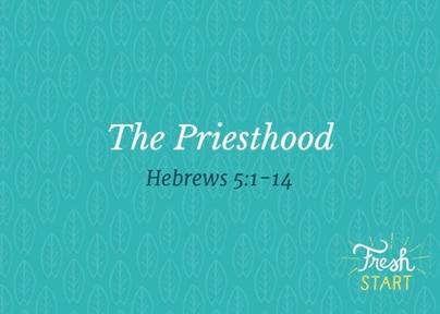 The Priesthood 12/27/20