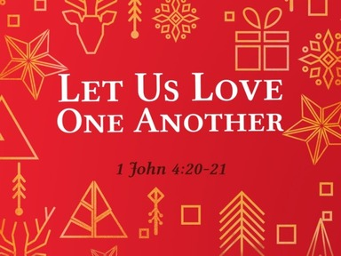 Let Us Love One Another pt.5