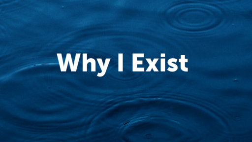 Why I Exist