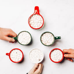 Hot Cocoa Mugs in the Shape of a Tree  image 1
