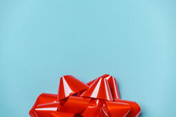 Large Red Gift Bow  image 4