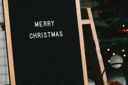 Merry Christmas Letter Board  image 2