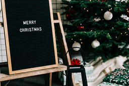 Merry Christmas Letter Board  image 1