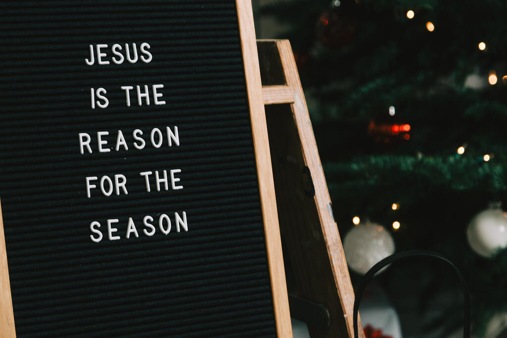 Jesus is the Reason for the Season Letter Board large preview