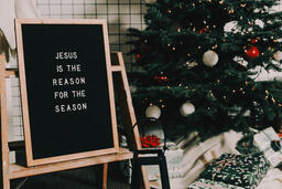 Jesus is the Reason for the Season Letter Board  image 2