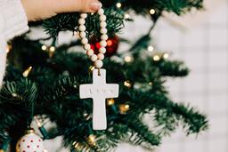 Cross Christmas Ornament  image 4