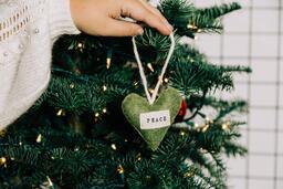 Peace Christmas Ornament  image 2