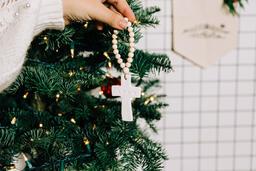 Cross Christmas Ornament  image 2