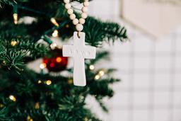 Cross Christmas Ornament  image 3