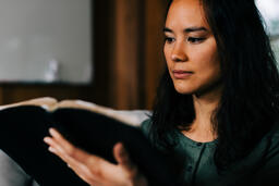 Woman Reading the Bible  image 1