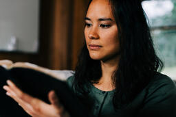 Woman Reading the Bible  image 2