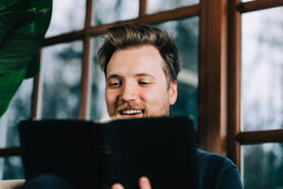 Man Reading the Bible  image 2