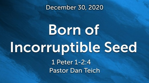 Born of Incorruptible seed