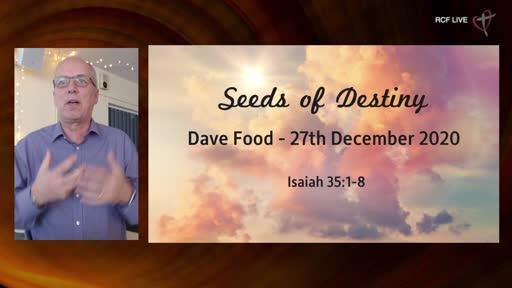 27th December 2020 - Year End Celebration - Dave Food - Seeds Destiny