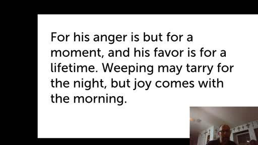 Thurs. Dec. 31,  '20 Evening PPT Psalm 30