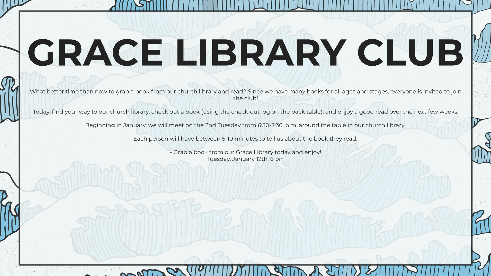 Grace Library Club